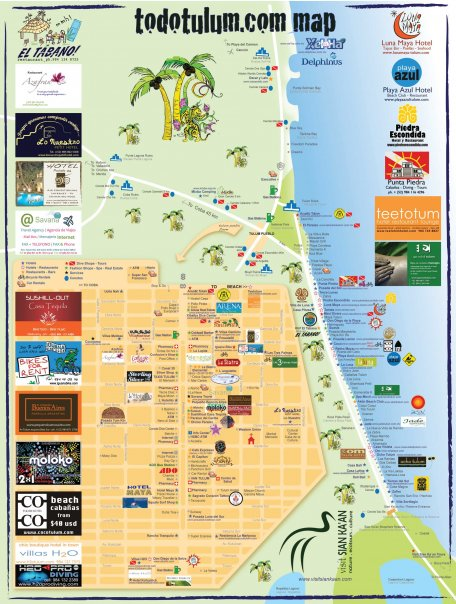 map of tulum